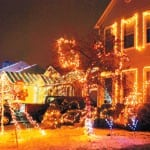 Holiday lights spectacle