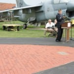 Memorial Brick Garden dedicated at Motts Military Museum