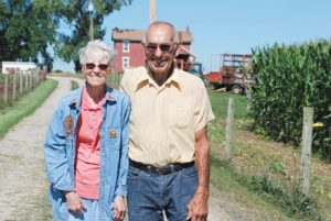 Edith and Rodney Wildermuth's family farm has withstood the test of time for more than 200 years.