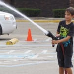 Local kids learn about firefighting