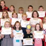 Norwood Elementary students of the month