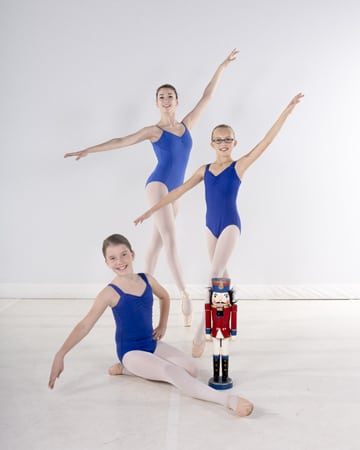 "Southwest area youngsters leap into the holiday season in BalletMet's ""The Nutcracker."" Performing in the show are Lucy Horner (back), Emma Smith (center) and Hannah Dilley.  The holiday tradition, BalletMet's ""The Nutcracker,"" returns to the Ohio Theatre (39 East State St., Columbus) for 16 performances Dec. 12-24. Joining BalletMet's professional dancers onstage are 154 dance students from BalletMet's dance academy who have undergone rigorous training and rehearsals with the professional dancers. Tickets start at $25 and can be purchased through CAPA, Ticketmaster or balletmet.org."