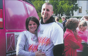 Karen and Jason Hatfield of Grove City plan to walk 60 miles to benefit breast cancer research.