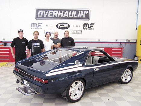 West Jeff Men Part Of Muscle Car Makeover For Overhaulin