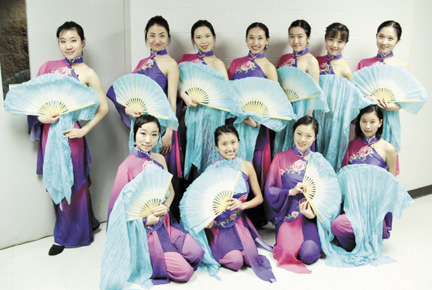 """Dance of the Soul from China,"" a dance troupe made up of Ohio State University students, will perform April 18 at the Mount Sterling Community Center."