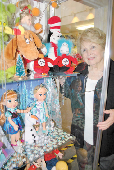 Executive Director Henrietta Pfeifer's Mid-Ohio Historical Doll and Toy Museum now features a Pop Culture room where visitors can see many of the dolls and toys made popular within the last half-century.