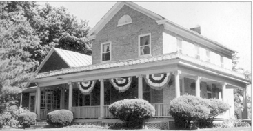 This home, located on Groveport's Main Street and built in 1840 by one of the town's founders, William Rarey, and now owned by Bill and Doris Cox, is one of the stops on this year's Groveport Home and Garden Tour.