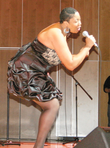 Singer Maria Bailey, who electrified the crowd with her rendition of an Etta James song at last year's Reynoldsburg's Got Talent.