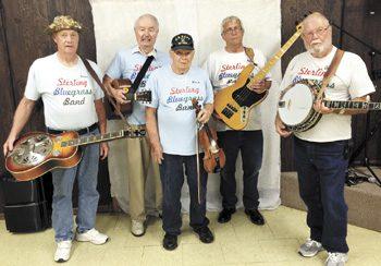 Bluegrass Boys on state fair stage - Columbus Messenger