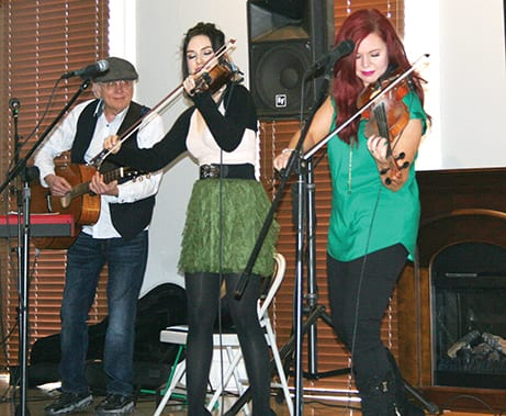 Lone Raven soars during Irish music concert in Groveport
