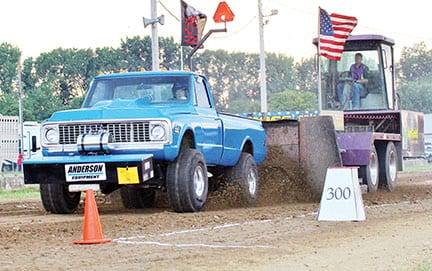 Gearing up for truck and tractor pulls at the fair